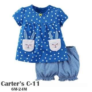Carter's 2-Piece Babysoft girls suit C-11
