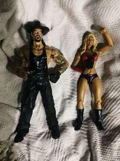 WWE SUPERSTARS Figures Jakks Pacific