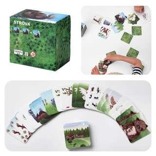 Ikea Strova memory card game