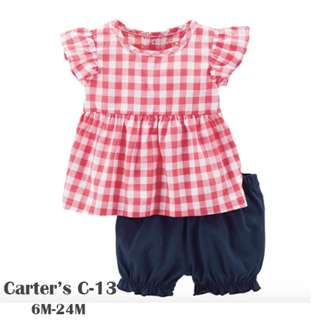 Carter's 2-Piece Babysoft girls suit C-13