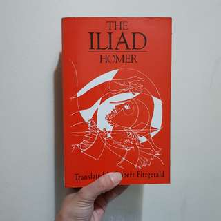 The Iliad by Homer (Paperback)