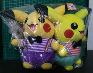 #KayaRaya  Double Pikachu Soft Toy