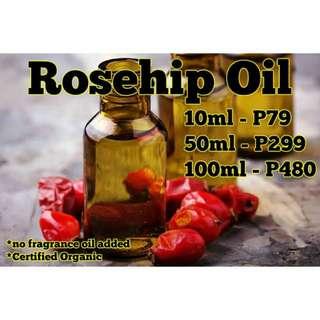 Rosehip Essential Oil (Pure Organic Cold-Pressed) Rose Hip
