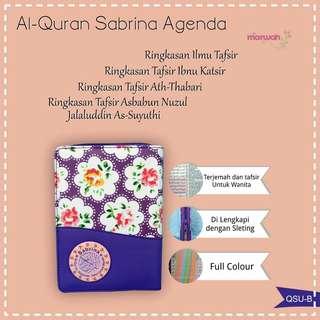 Al-Qur'an Sabrina terjemahan khusus Wanita