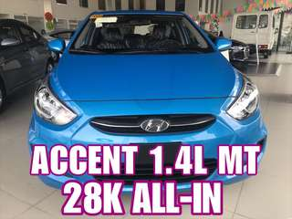 Hyundai Accent MT