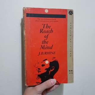 The Reach of the Mind by J.B. Rhine (Paperback)