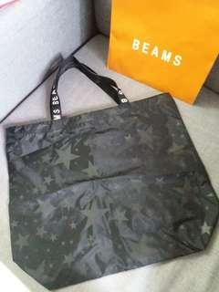 全新日本beams 環保袋