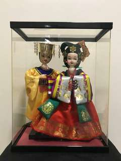 Korean Wedding Doll Set