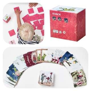 Ikea Kvack memory card game