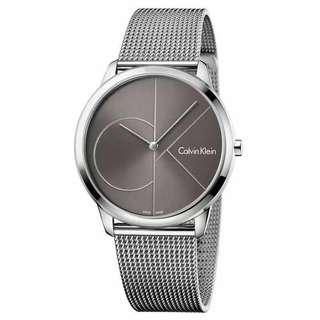 Calvin klein silver watch oem