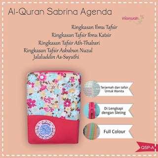 Al-Qur'an rainbow Sabrina Khusus Wanita