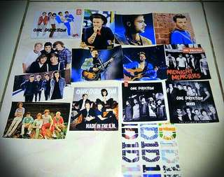 Stiker One Direction/Shawn Mendes/ Coldplay/ Maroon 5/ 5 Second of summer/dll