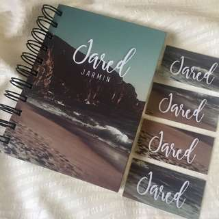 Personalized Notebooks/Sketchpads
