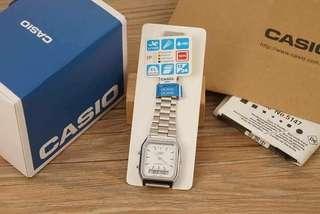 Casio silver watch oem