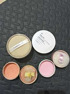 Cover powder& cushion blusher