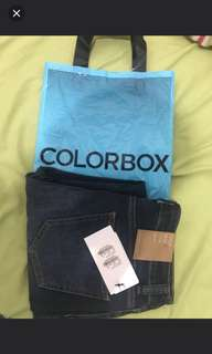 Ripped Jeans COLORBOX