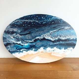 Deep blue sea 30cm