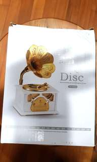 Disc Music Musical Box/ Home Decor / Jewelry Case
