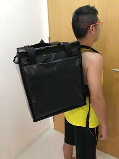 54L Insulated Food Delivery Bag courier thermal cooler bag