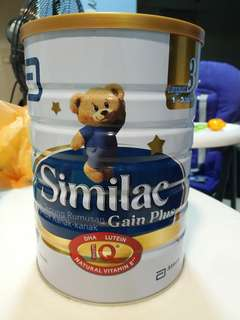 Similac gain plus 1.8kg