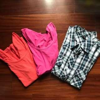 Bundle: Low Back shirt & Polo