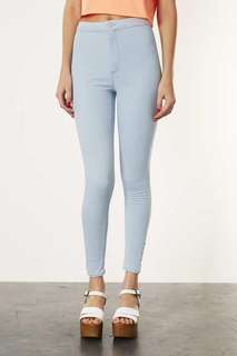Topshop Light Blue Joni Jeans Petite #fashion75 #kayaraya