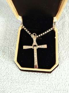 Fast & the Furious Inspired Cross Necklace