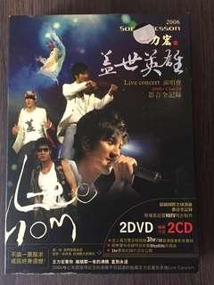 Wang Lee Hom 王力宏 盖世英雄 演唱会 Live Concert CD + DVD