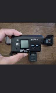 Sony action camera - barely used