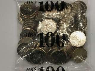 閃令令 2015 硬幣 神沙 一元 $1 (面值$100)散銀