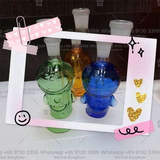 Colourful Cute Display Glass