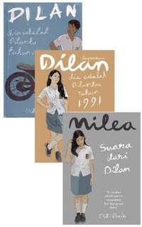 Set Buku Dilan 1990, Dilan 1991, dan Milea