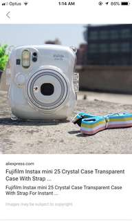 LOOKING FOR: instax mini 25 case