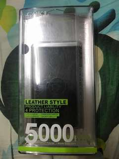 Coki皮革製5000mAh 外置電
