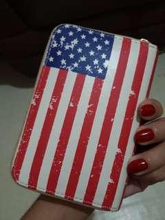 USA printed wallet
