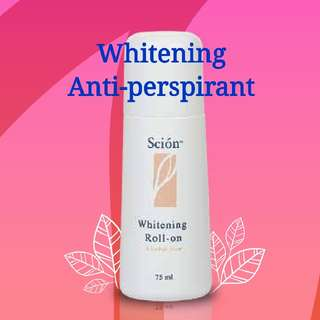 Whitening roll-on anti-perspirant