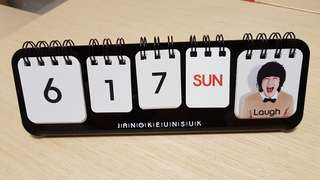 Jang Keun Suk Emotions calendar (fan meeting product) 張根碩表情日曆 (fan meeting 週邊)