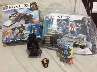 Halo Mega Bloks Construx Lot