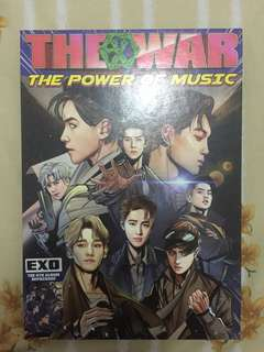 Album Exo the war repackage