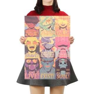🚚 Premium Vintage Style One Piece| Crew Slogan Poster