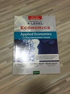 A Level Economics - Applied Issues