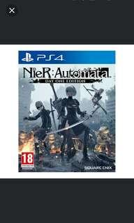 PS4 Nier Automata