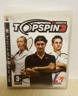🚚 [Clearance] PS3 TopSpin 3