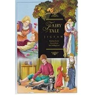 Preloved Innovage Fairy Tale Jigsaw Puzzle Book (3 Tales 6 jigsaw)