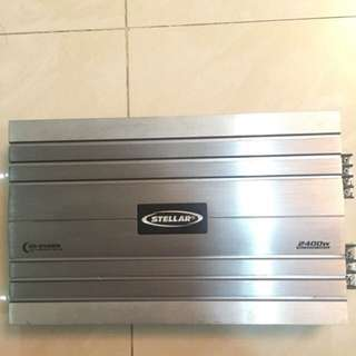 Amplifier and monoblock