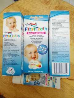 Aquafresh嬰幼兒牙膏 🈹價求清物