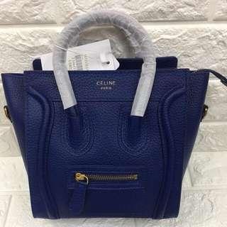 Celine nano luggage sling bag authentic