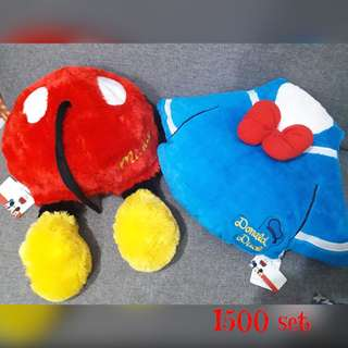 Mickey and Donal Pillow