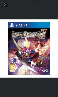 PS4 Samurai Warriors 4-II