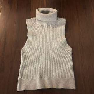 Forever21 Ribbed Mock Neck - Size: S
